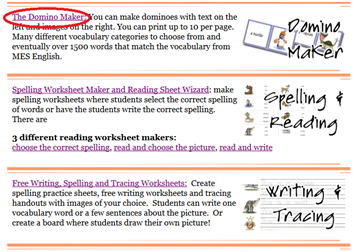 English world domino maker it will be shown a page like picture below choose text domino maker if you want to make domino card without picture and choose one of topics if you want ibookread Download