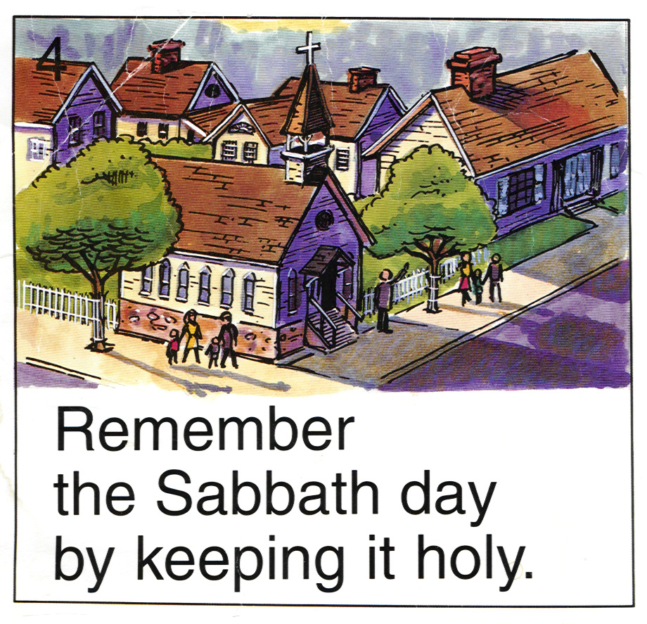 Letter from god keep the sabbath day holy keep the sabbath day holy kristyandbryce Image collections