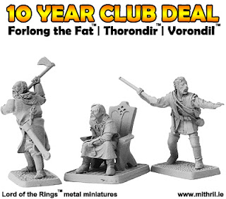 Forlong the Fat, Thorondir and Vorondil LOTR miniatures