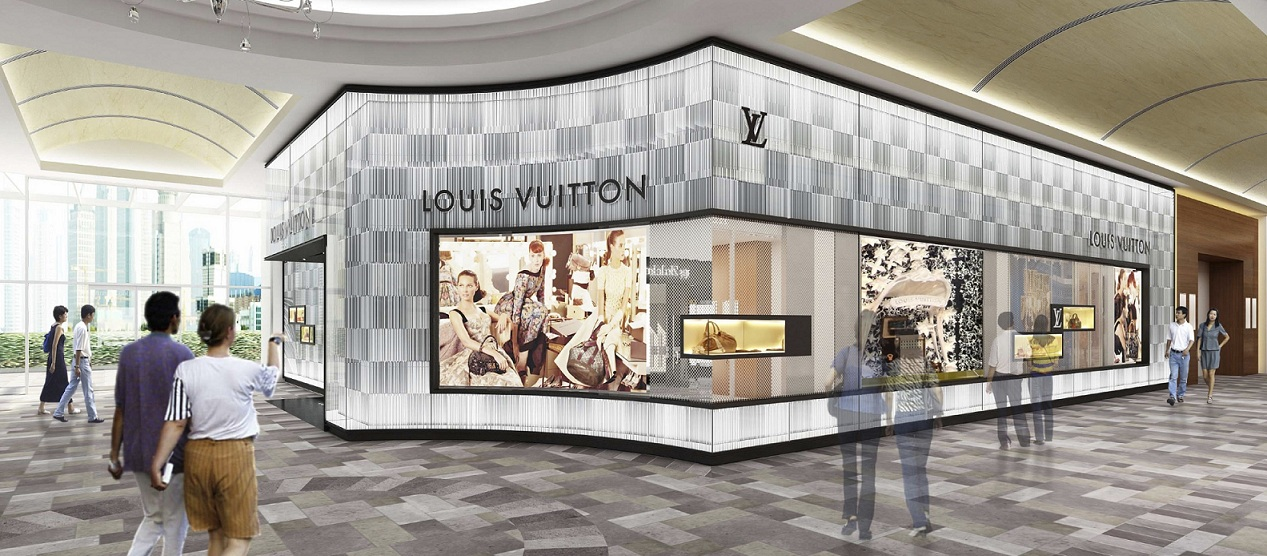 Expanded Louis Vuitton Store At Greenbelt 4 Manila Opens In October