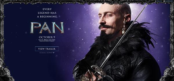 Pan - Hugh Jackman (Blackbeard)
