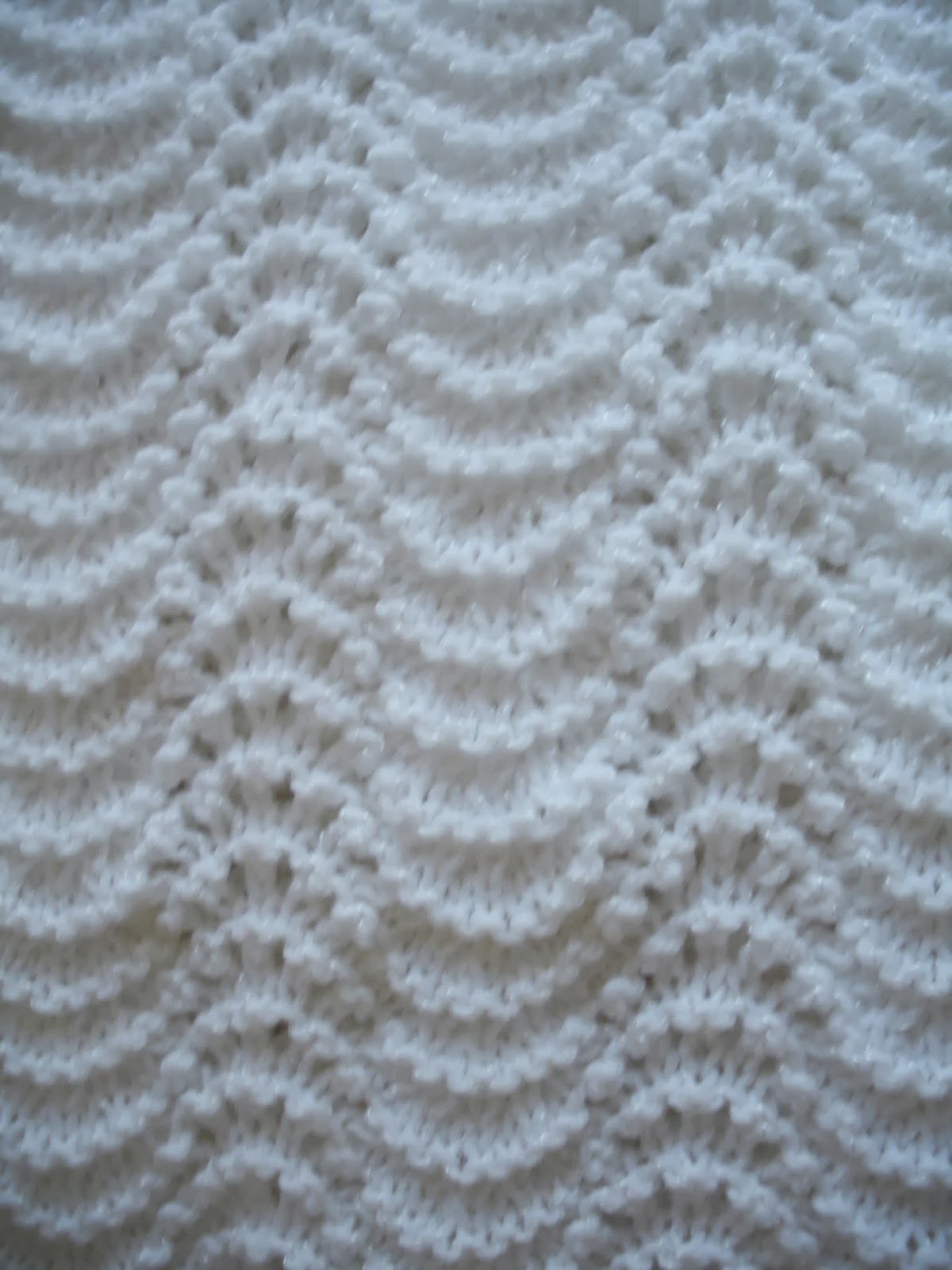 Old Shale Knitting Pattern Afghan : Yarn In, Yarn Out: Free Pattern: Good Old Old Shale
