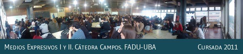 Medios Expresivos I y II. Cátedra Campos. FADU-UBA