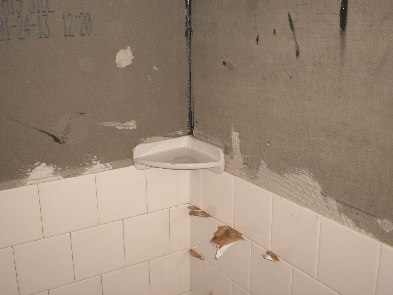 The simplest tile pattern shower for the tile do-it yourselfer part ...
