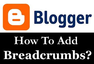 blogger breadcrumb
