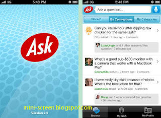 Ask: Best Reference Application on iPhone Interface