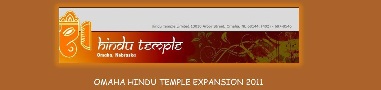 Omaha Hindu Temple Expansion 2011