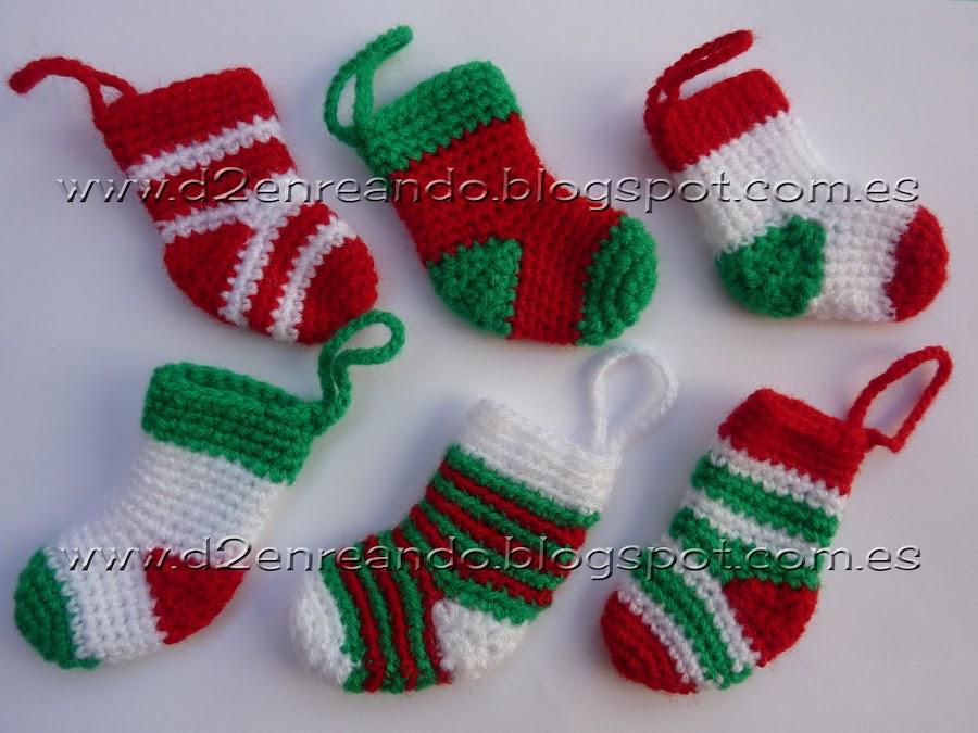 Blog de d2enreando - Adornos navidenos crochet ...