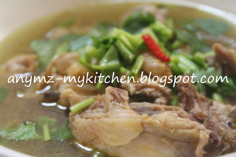 My Kitchen Sup Ayam Kampung