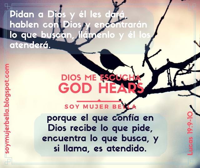 Dios me escucha