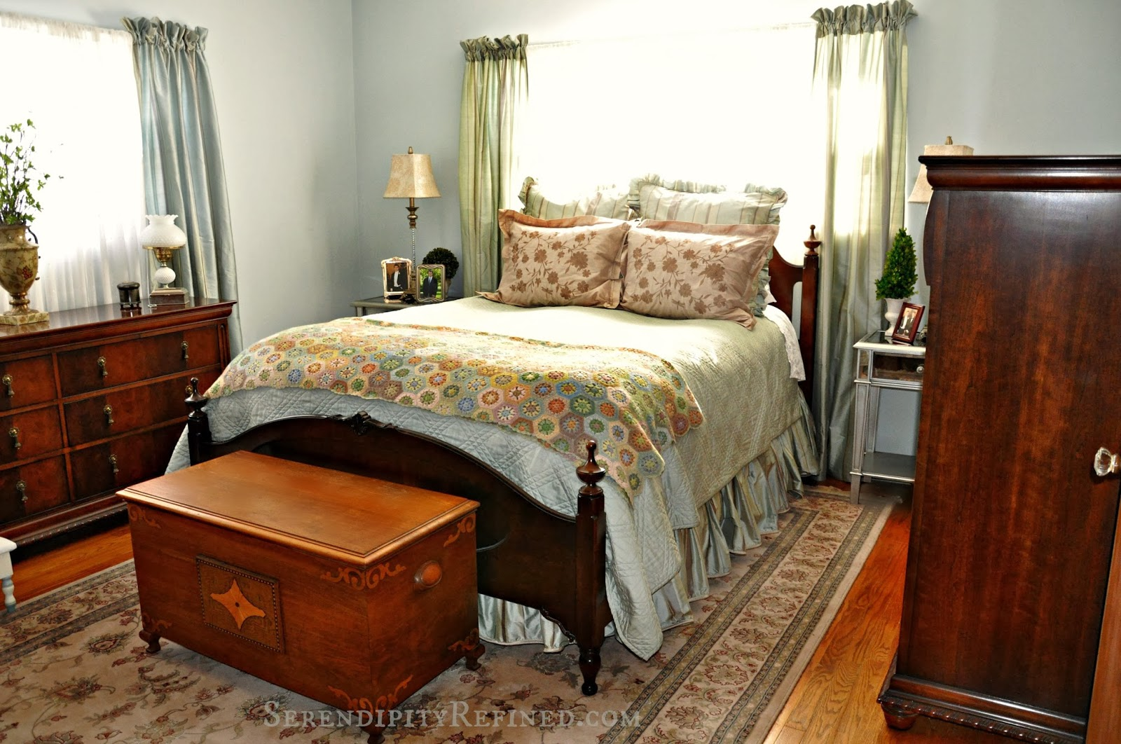 Serendipity Refined Blog Bedroom Progress Photos French