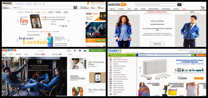 Ecommerce Websites in India