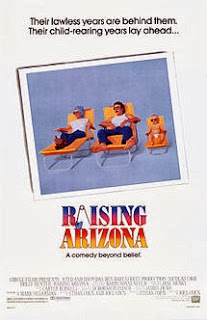 Utah Saints naam inspiratie - Raising Arizona Poster