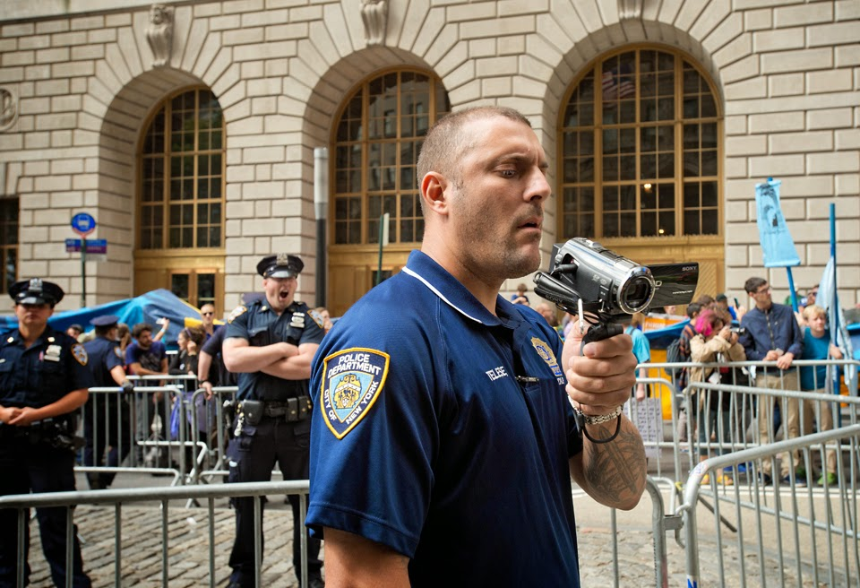Flood Wall Street; Climate Change; Demonstration; Protest: Civil Disobedience; NYPD; TARU
