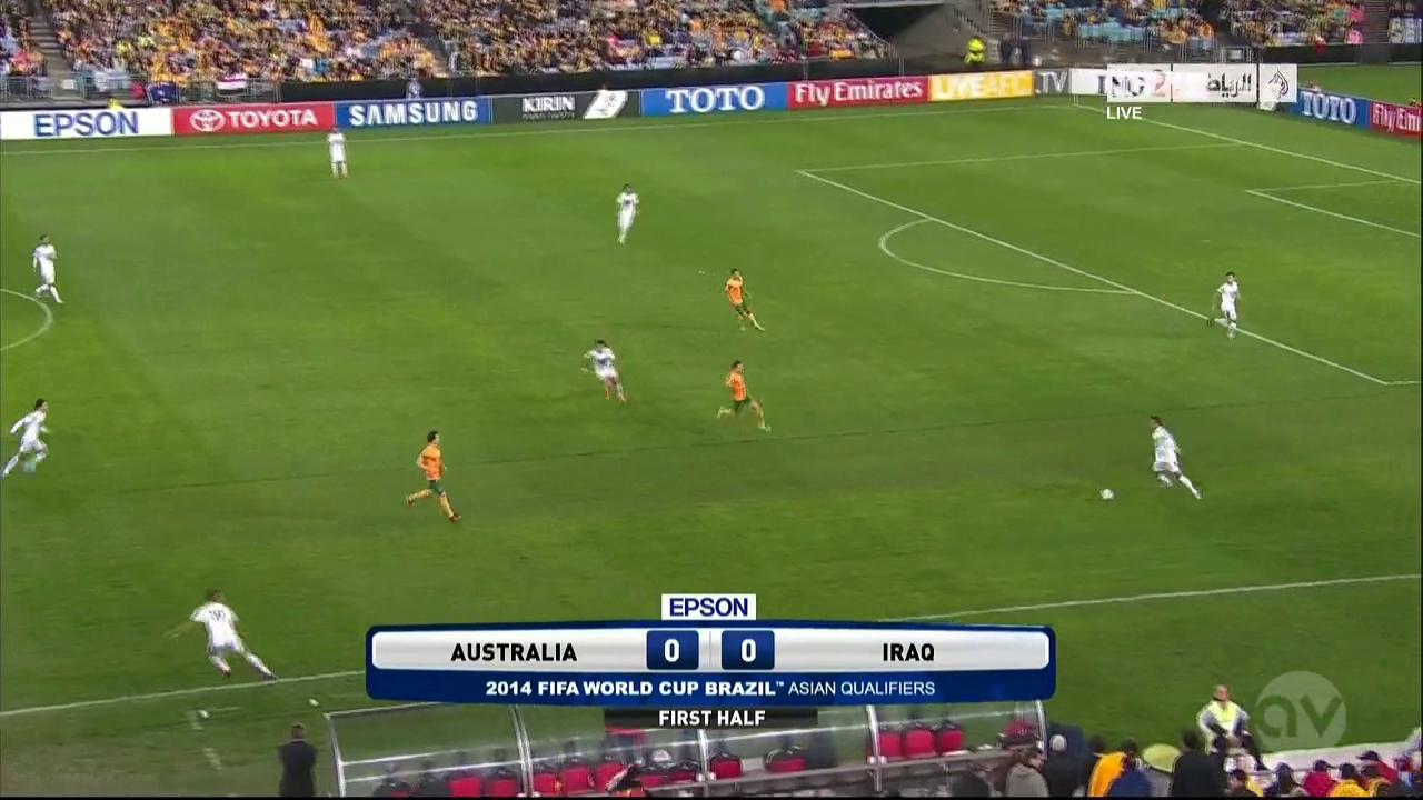 World Cup Qualifier 2014 - Australia vs Iraq