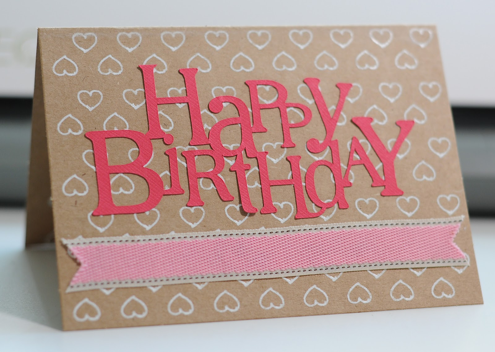 amy chomas birthday card with chomas creations adjustable marker, Birthday card