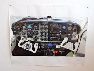 Poster de cockpit de Baron