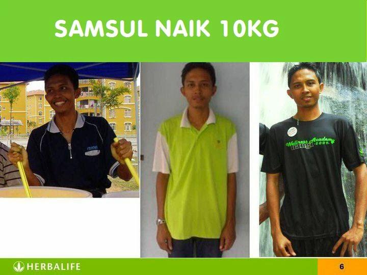 menambah berat badan dewasa