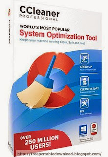 CCleaner Professional v4.15.4725 application for optimization of system and user safety
