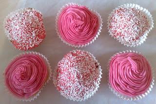 Pink Cupcakes Home baking