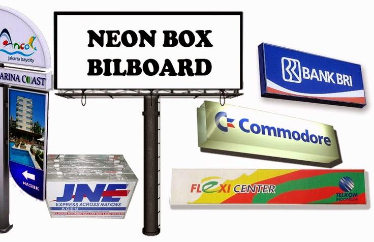 jasa pembuatan neon box murah jakarta