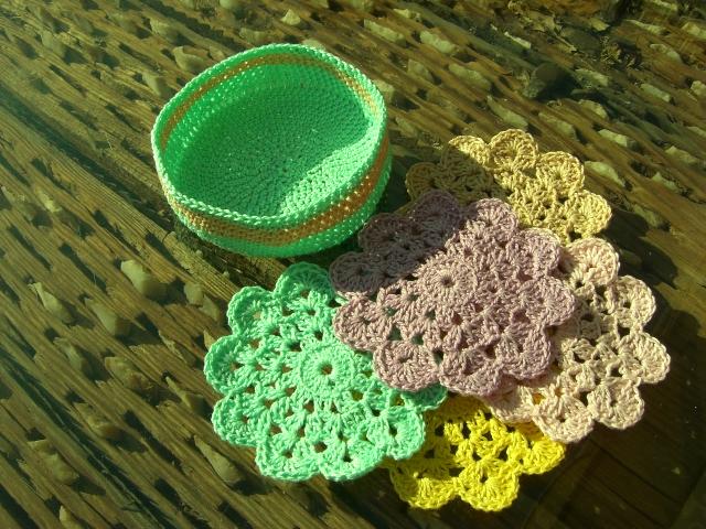 Posavasos crochet patron imagui - Posavasos de ganchillo ...