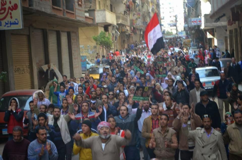"""بالصور.. أهالي """"سيدي بشر"""" بالإسكندرية"""