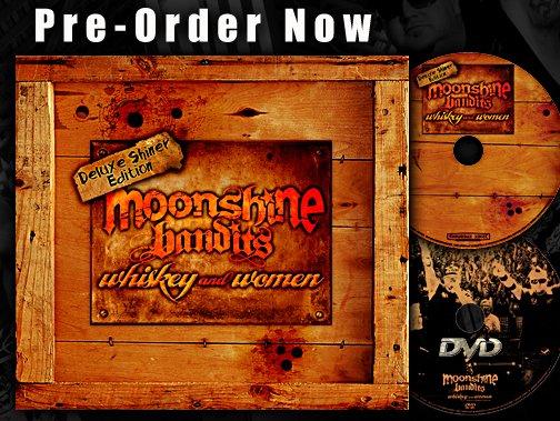 moonshine bandits whiskey woman cd