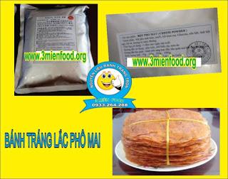 cung cấp nguyên liệu làm bánh tráng trộn : 0933.264.288