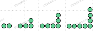 Pola Barisan bilangan genap