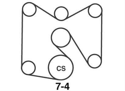 Chevy Truck Belt Diagram on Chevy 350 Belt Routing Diagram