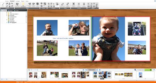 Met de gratis software van Albelli kun je heel makkelijk mooie fotoalbums maken