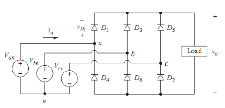 Penyearah tiga  fase (Three-phase rectifiers)