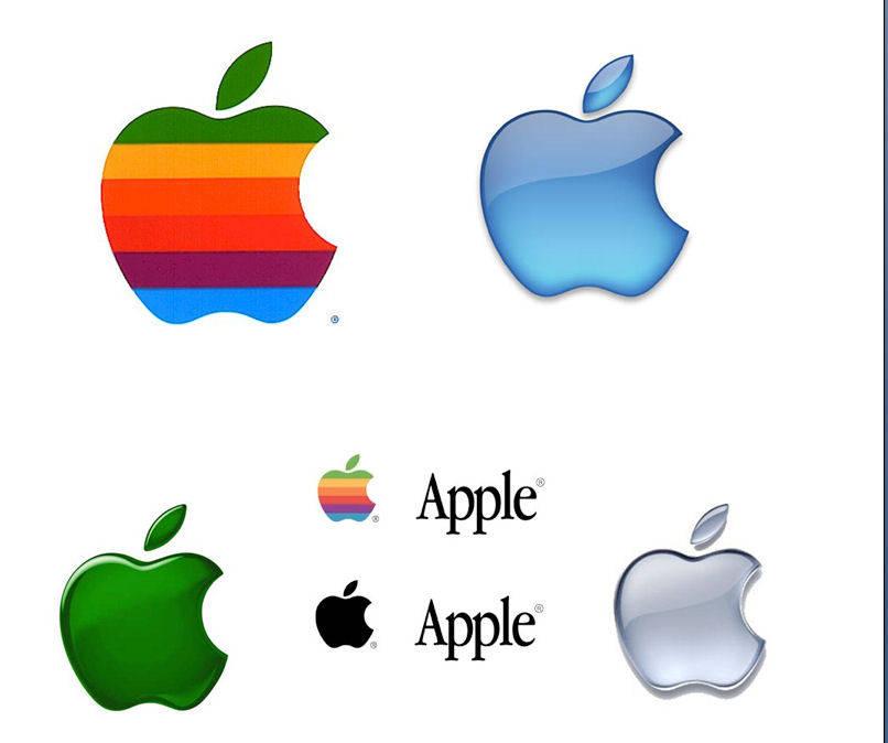 Apple Logo Evolution Story  Think Marketing