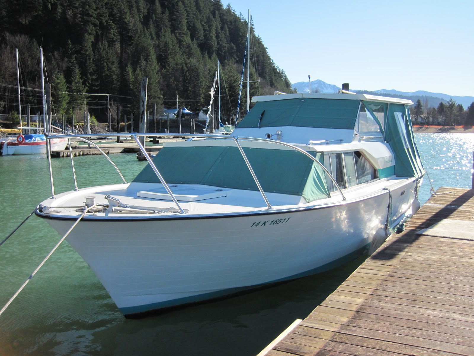 Old cabin cruisers for sale