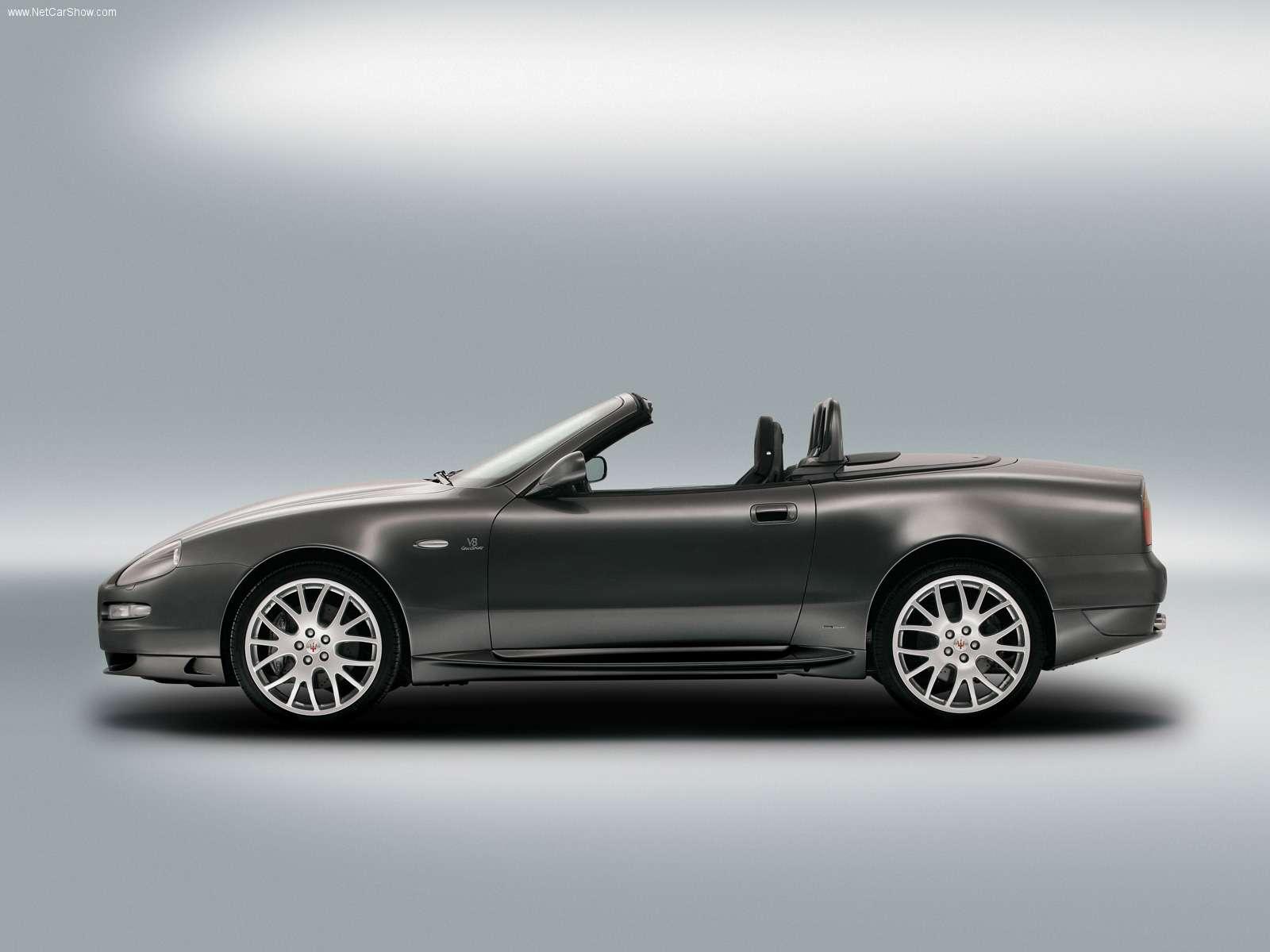 Hình ảnh siêu xe Maserati GranSport Spyder 2006 & nội ngoại thất
