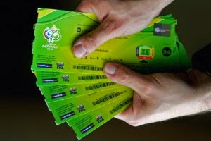 2014 World Cup Brazil-Ticket