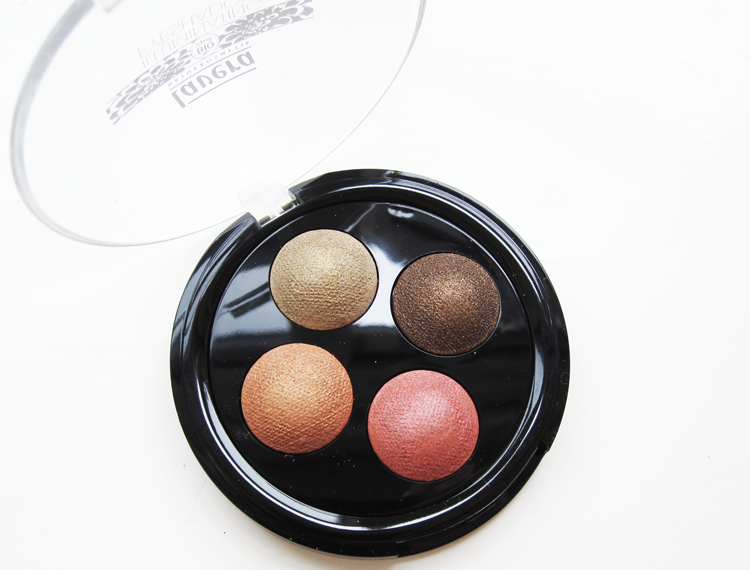 A picture of  Lavera Illuminating Eyeshadow Quattro in Indian Dream