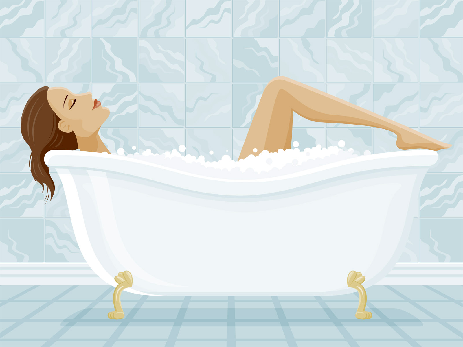 С первого раза в ванной 22 фотография