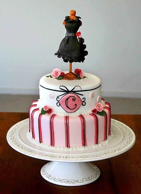 Sweet Bites Cakes Dress Form Cake