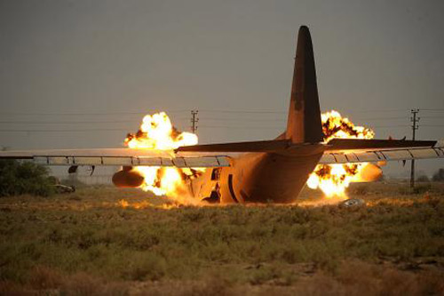 Clip shock - Những pha tại nạn máy bay kinh hoàng