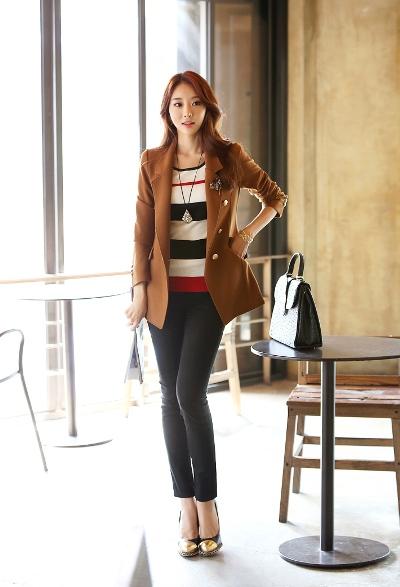 Áo vest nữ Blazer hàn quốc đẹp lôi cuốn cho các nàng công sở