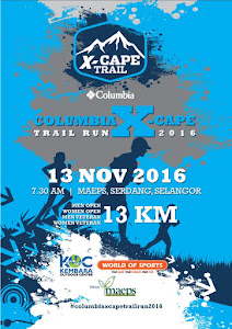 Columbia X-Cape Trail Run 2016 - 13 November 2016