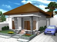 Konsep Desain Denah Rumah Minimalis Mewah Satu Lantai 2015