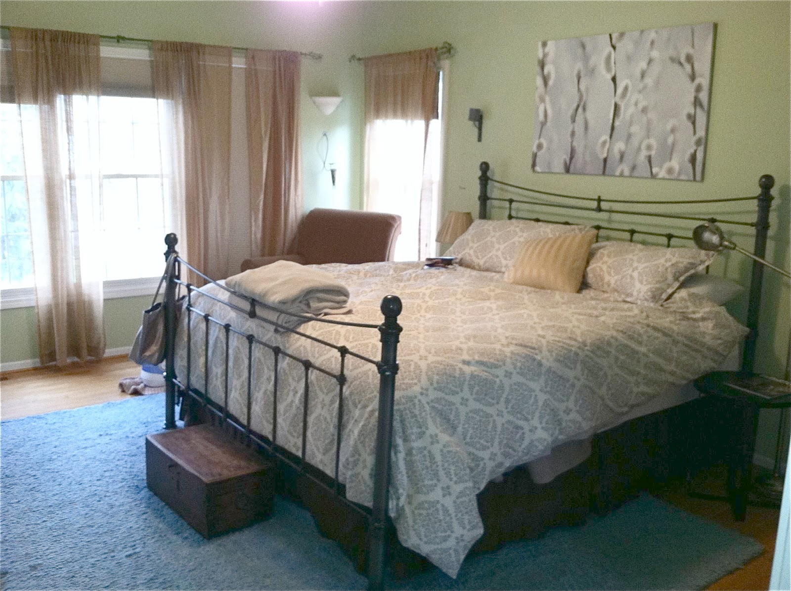 Master Bedroom Makeover The Yellow Cape Cod Dramatic Master Bedroom Makeoverbefore And After