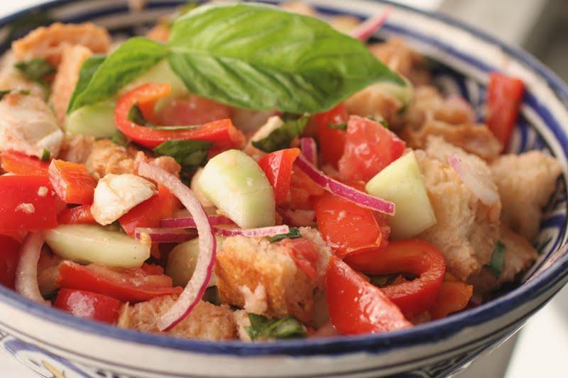 in the Hopeful Kitchen: Panzanella Salad