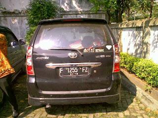 Pengiriman Avanza F 1255 FZ Jakarta ke Kupang