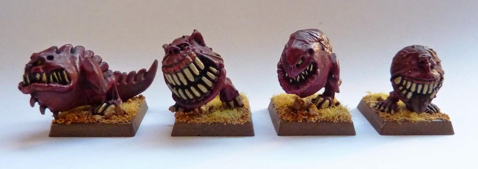 Warhammer Fantasy - Orcs & Goblins Cave Squigs