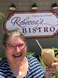 2020 Rebecca's Bistro, Iced Chai Raspberry Latte, Walnut Creek OH