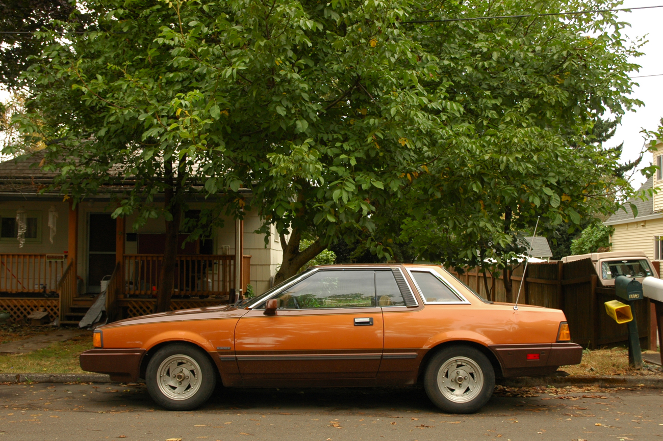 Old Parked Cars 1982 Datsun 200sx Coupe